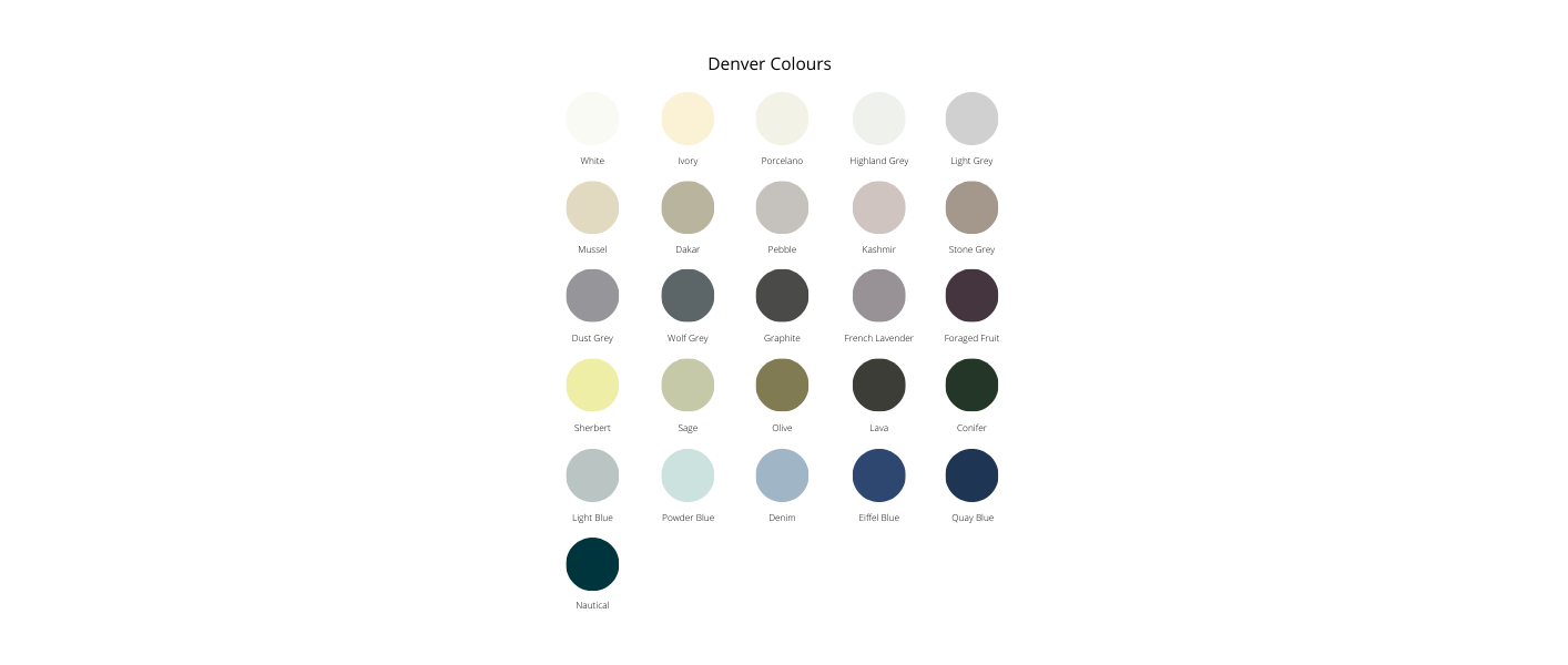 denver colour palette